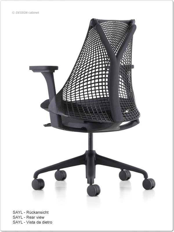 herman miller sayl b rostuhl b rodrehstuhl ergonomisch stuhl office chair. Black Bedroom Furniture Sets. Home Design Ideas